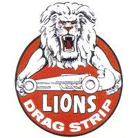 HOT ROD Sticker LIONS DRAG STRIP Sticker