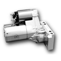 Gear Reduction Chrome Starter Motor for Chevy