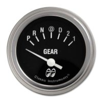 MOON Equipped 2inch Gear Indicator 4 Speed  (Black)