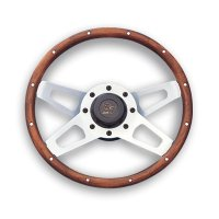 Grant Challenger Wood Grip Silver Spoke 34cm