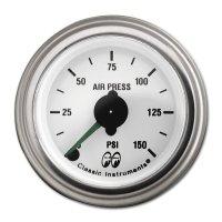 MOON Equipped 2inch Dual air Pressure (Mechanical)   (White)