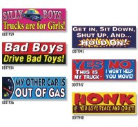 Bumper Stickers -5  (DDTT-5)