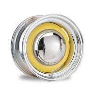Gennie Steel Wheel Chrome/Bare 16x10