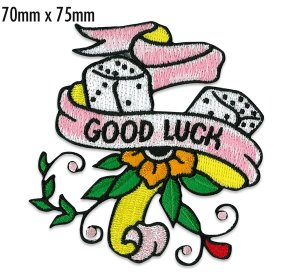 Photo1: Good Luck Patch