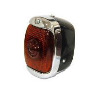 Old School Tail Lamp, Black