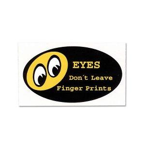 Photo1: Don't Leave Finger Prints Sticker
