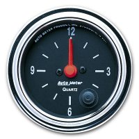 Performance Traditional  Gauge Clock  (Quartz clock)