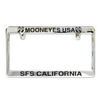 MOONEYES Chrome License Frame / MOONEYES USA