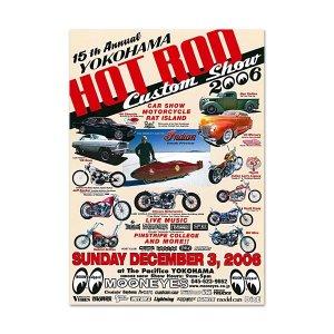 Photo1: 15th YOKOHAMA HOT ROD-Custom Show 2006 Poster