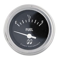 MOON Equipped 2inch Fuel Level 230F-33E  (Black)