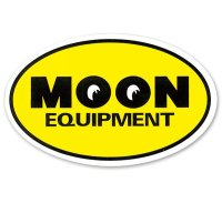 MOON Equipment Oval Sticker