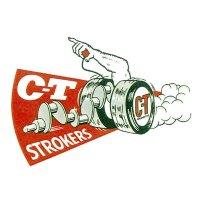 HOT ROD Sticker C-T STROKERS Sticker
