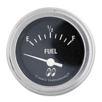 MOON Equipped 2inch Fuel Level 0-30 -67GM Type  (Black)