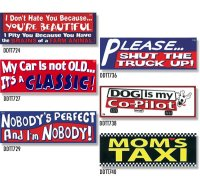 Bumper Stickers -2  (DDTT-2)