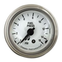 MOON Equipped 2inch Fuel Level 0-90 GM Type  (White)
