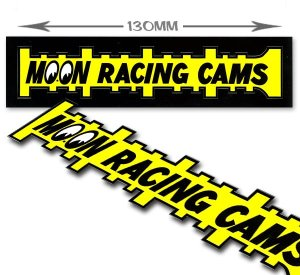 Photo1: MOON Racing Cams Sticker
