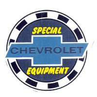 SPECIAL CHEVROLET EQUIPMENT Sticker Small