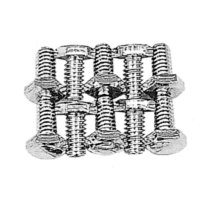 Chrome Hex Head Timing Cover Bolt Set