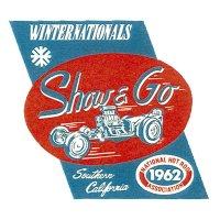 HOT ROD Sticker 1962 NHRA WINTERNATIONALS Show & Go