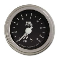 MOON Equipped 2inch Fuel Level 0-90 GM Type  (Black)