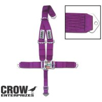 Standard latch & Link CROW Seat Belt  (Bolt in Mount)    (CROW1100)