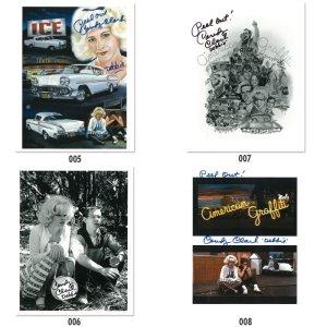 Photo1: American Graffiti Printings with Autograph  (B)