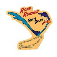 Road Runner Decal Beep Beep
