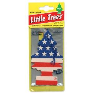 Photo1: Little Tree Air Freshener Star & Stripe