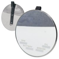 Visor Vanity Mirror with Record