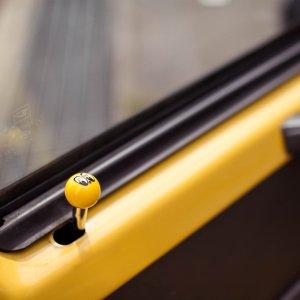 Photo2: MOONEYES Eyeball  Door lock Knob
