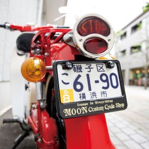 Photo1: MOON Equipped License Bolt