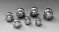 Chrome Bolt Cap  1/2inch (About 12mm)