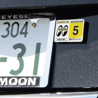 MOONEYES Registration Stickers