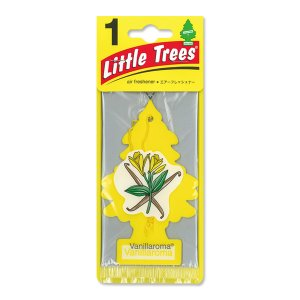 Photo1: Little Tree Air Freshener Vanilla