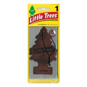 Photo1: Little Tree Air Freshener Leather