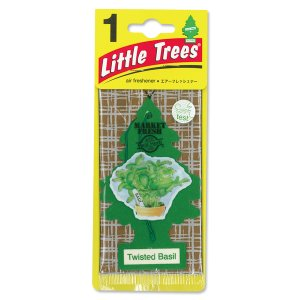 Photo1: Little Tree Paper Air Freshener Twisted Basil