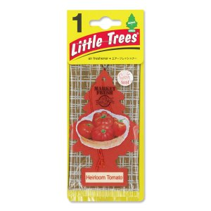 Photo1: Little Tree Paper Air Freshener Heirloom Tomato