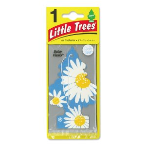 Photo1: Little Tree Paper Air Freshener Daisy Fields