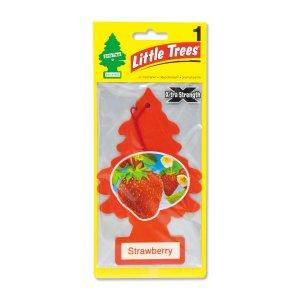 Photo1: Big Tree Air Freshener Strawberry