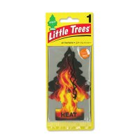 Little Tree Paper Air Freshener Heat