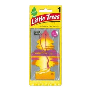 Photo1: Little Tree Paper Air Freshener Sunset Beach