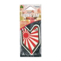 Ship Flag Air Freshener -White Peach-