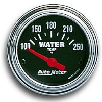 Performance Traditional  Gauge Water Temp  (100-280)