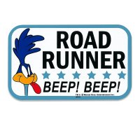 Road Runner Beep Beep Square Sticker