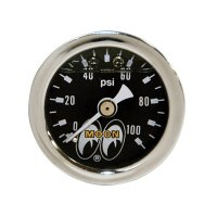 Direct Mount Fuel/Oil Pressure Gages (0-100psi)
