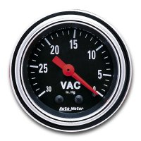 Mechanical Traditional  Gauge Vacuum  (30In hg)