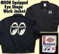 MOON Equipped Eye Shape Work Jacket