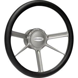 Photo1: Budnik Steering Wheel Tungsten