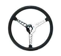 Bell Style Steering Wheel No Hole 4 Spoke  34cm