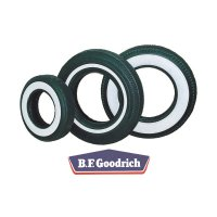 @B.F.Goodrich Silvertown White Wall Tire 550-16
